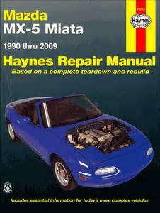 haynes repair manual 61016 for mazda miata 1990 1997 ebay haynes mx 5 miata repair manual 1990 2009