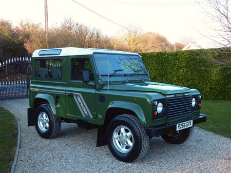 green land rover defender used coniston green land rover defender for sale essex