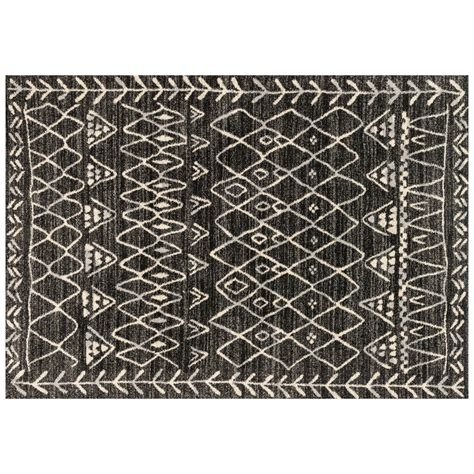 black and ivory rugs emory black ivory rug collection