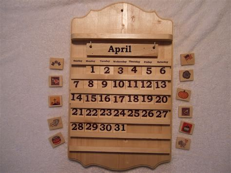 Calendar Wooden Wooden Calendar Calendar Template 2016