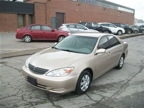 2003 Toyota Camry Fuel Economy 2003 Toyota Camry Le Low Mileage Crtified E Tested