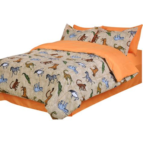 boys twin bed in a bag jungle wild animal print boys twin bed in a bag comforter