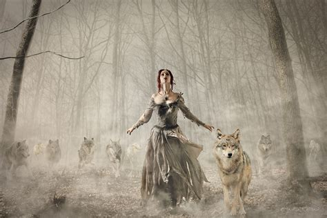 Teh Pucuk Dus contestbild she wolf leader of the pack