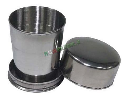 bicchieri pieghevoli bicchiere pieghevole e tascabile in acciaio grande