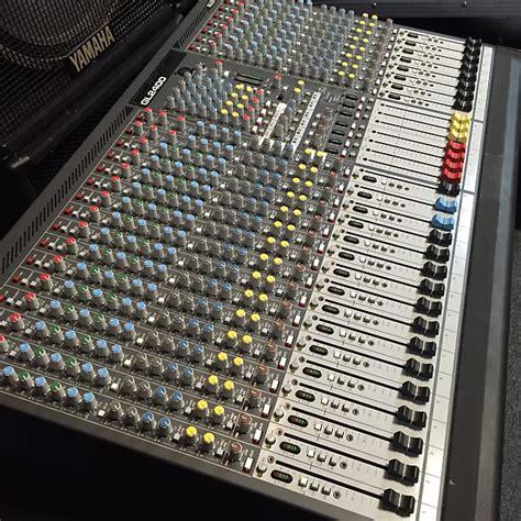 Mixer Allen Heath Gl2400 24 Ch allen heath gl2400 24 channel mixing board console reverb