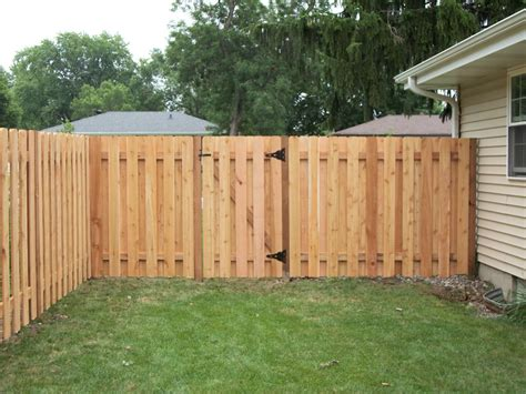 privacy fences eared alternate board privacy fence minneapolis mn northland fence mn