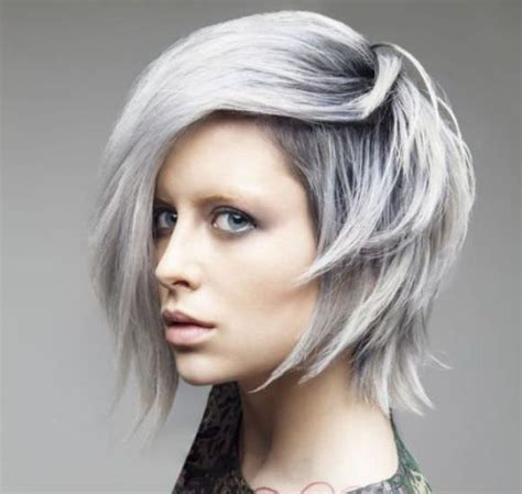 40s hair mixed colors with gray 40 gorgeous ideas to make grey hair color shine