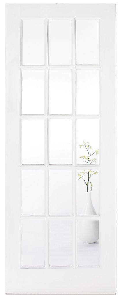 Interior Glass Doors White White Faced Sa Glazed Interior Door Iwfsag 163 122 00