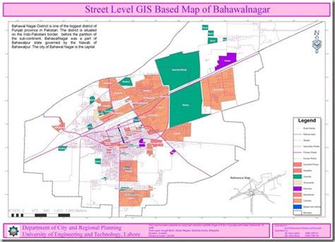 9 acquire gis pakistan gis level gis map of bahawalnagar