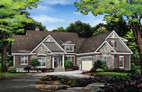 home design story start over house plan the linnea by donald a gardner architects