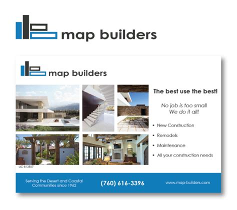 ad architectural design map builders logo and collateral sarahwolfrum