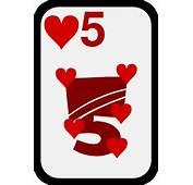 Five Of Hearts Clip Art Free Vector / 4Vector