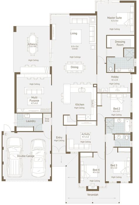613 best floor plans images on floor plans