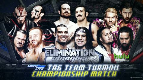 match card template tag team elimination chamber 2017 smackdown tag team