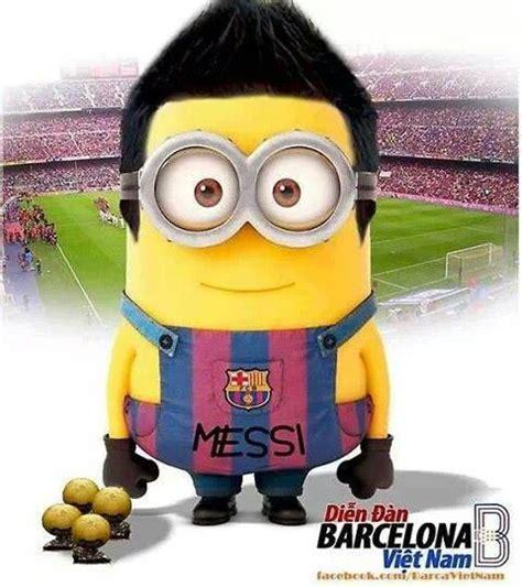 imagenes de minions barcelona messi minion footballers pinterest messi and minions