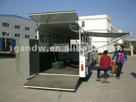 horse float awnings deluxe alu awning cing horse float 3horse trailer buy