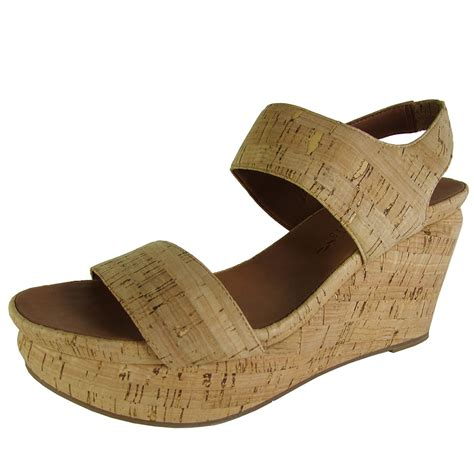gentle souls womens juniper berry cw cork wedge shoes ebay