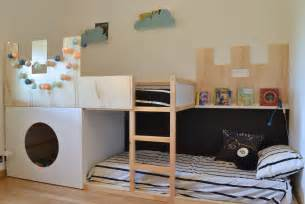 Ikea Toddler Bunk Bed Affordable Ikea Toddler Bed Attractive Ikea Kura Castle Bed With Ladder In Wooden Frame