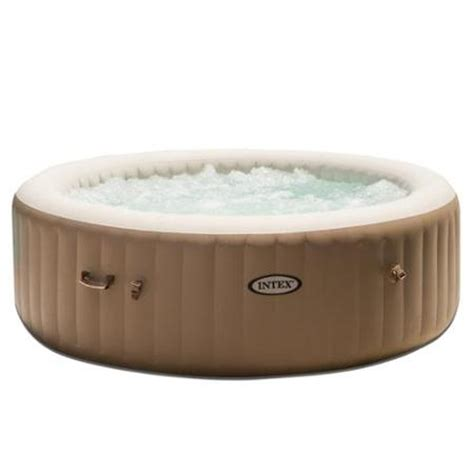 intex spa 6 person portable heated