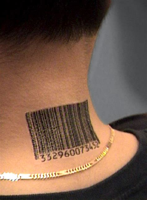barcode tattoo ebay custom barcode tattoos by scott blake