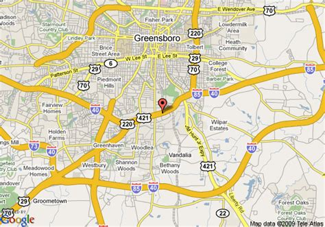 map of greensboro carolina 8 motel greensboro east i 85 greensboro deals see