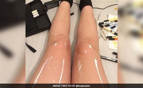 or legs this shiny legs optical illusion is driving the
