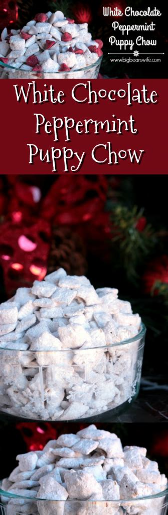 white chocolate puppy chow white chocolate peppermint puppy chow 12bloggers big s