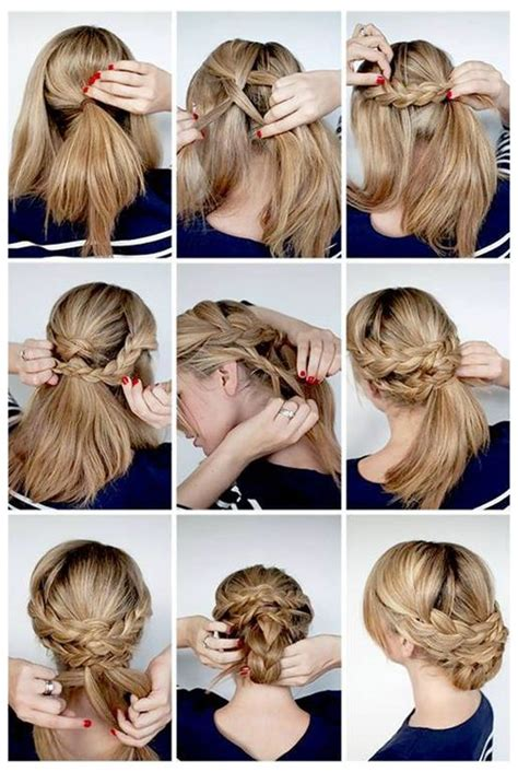 quick and easy hairstyles for party step by step 5 easy hairstyle tutorials with simplicity hair extensions
