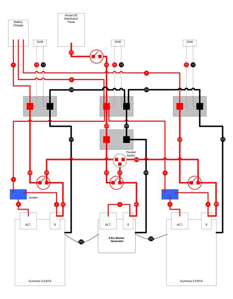 layout builder oneengine typical dc power distribution exle seaboard marine
