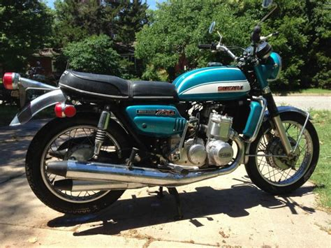 Suzuki Water Buy 1972 Suzuki Gt750j Water Bufalo Survivor All On 2040