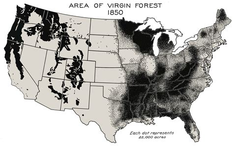 forest map of usa file forest in united states 1850 png wikimedia