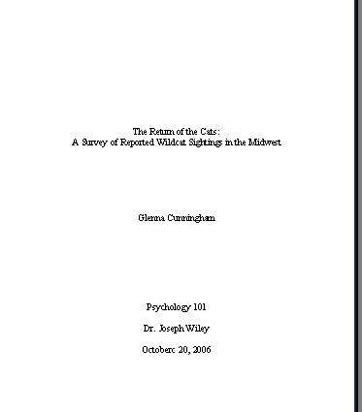 title page for book report what is a title page formats exles