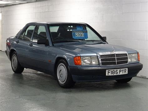 auto body repair training 1984 mercedes benz e class parental controls used 1989 mercedes benz 190 2 0 e 4dr for sale in west yorkshire pistonheads