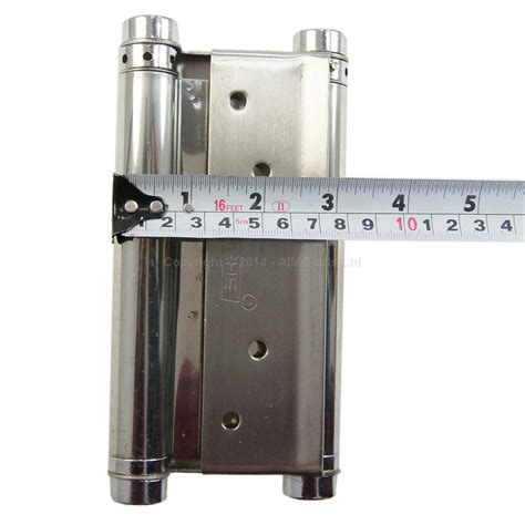 double swing door hardware 6 quot 1 pair stainless steel sprung hinges double action