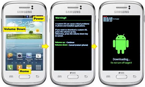 Tutorial Flash Galaxy Young S6310 | cara flash samsung galaxy young s6310 android device 99