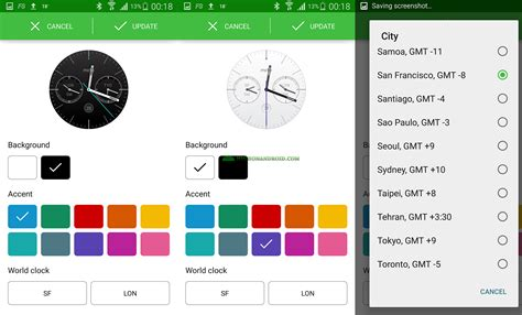 tutorial android wear how to customize android wear watch faces howto