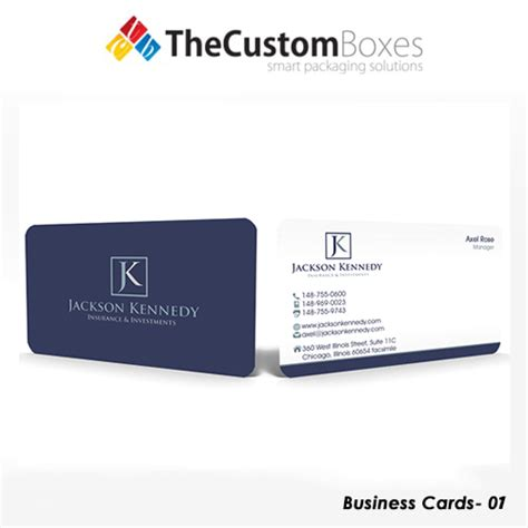 Business Cards Custom Paper custom business card printing and packaging the custom boxes