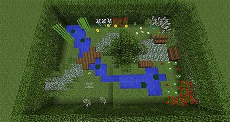Minecraft Garden Ideas Small Garden Minecraft Project