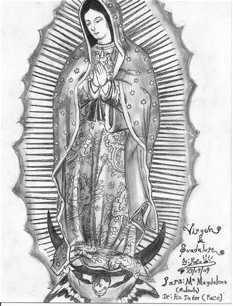 imagenes de la virgen de guadalupe para dibujar a lapiz pinterest the world s catalog of ideas