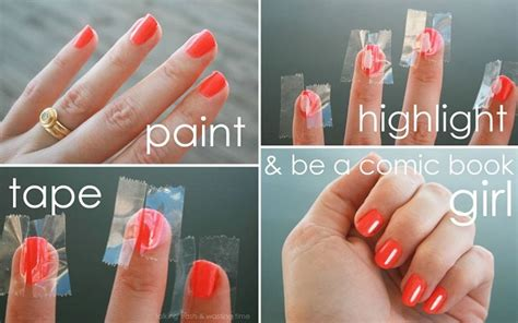 How To Make Nail by How To Make Highlights To Your Nails Alldaychic