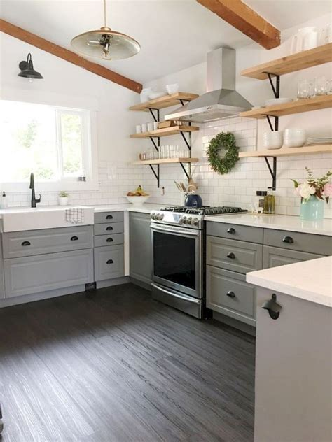 rustic farmhouse kitchen ideas 80 awesome rustic farmhouse kitchen cabinets decor ideas