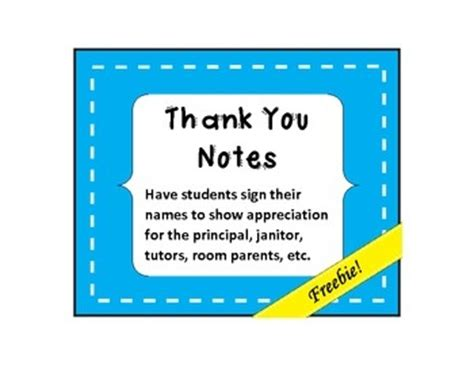 Thank You Note Leaving School 17 Best Images About School Ideas On Vocabulary Foldable Narrative Writing And