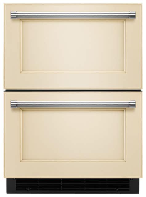 kitchenaid refrigerator drawer front kitchenaid 4 7 cu ft compact double drawer refrigerator