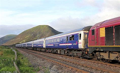 Caledonian Sleeper Upgrade by The Caledonian Sleeper Gets A Makeover Daily Mail