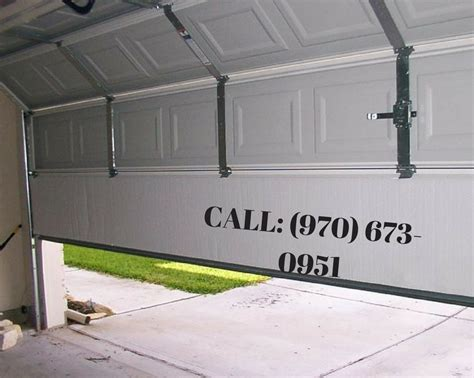 signs you need to maintain or repair your garage door