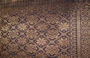 Bantal Ibu Palembang tenun palembang