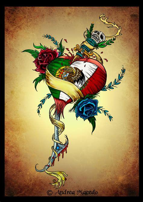 mexican tattoo designs art portuguese mexican color by prettygore on deviantart