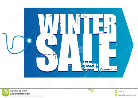 Winter Sale At The Green Directory Shop by Winter Sale Tag Royalty Free Stock Images Image 7599429