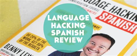 language hacking spanish learn language hacking spanish by benny lewis review lindsay does languages
