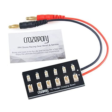 Micro Jst For 1s Charger Or Diy Battery crazepony 1s lipo battery charging board blade inductrix ultra micro jst ph parallel connect